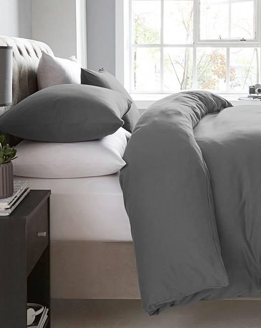 Cotton Jersey Duvet Cover Set Oxendales