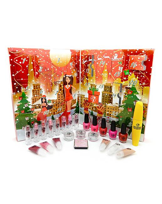W7 Cosmetics Beauty Advent Calendar by Fashion World