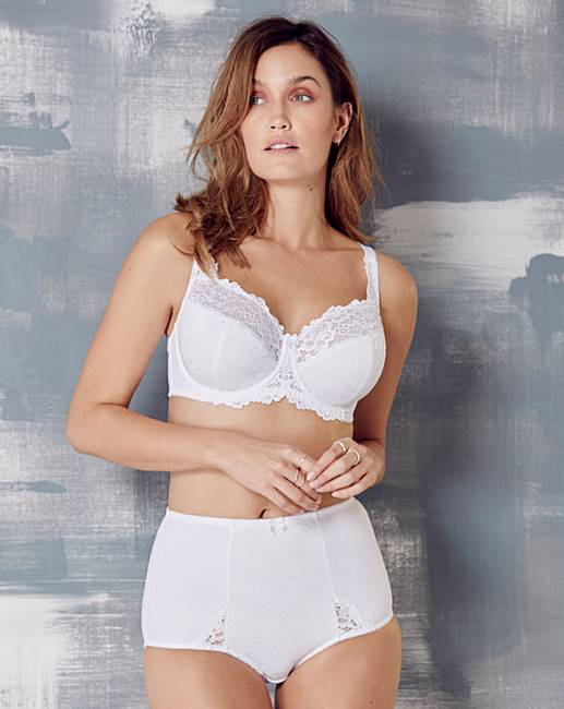 1807896b47aea Ruby Full Cup Wired White Bra