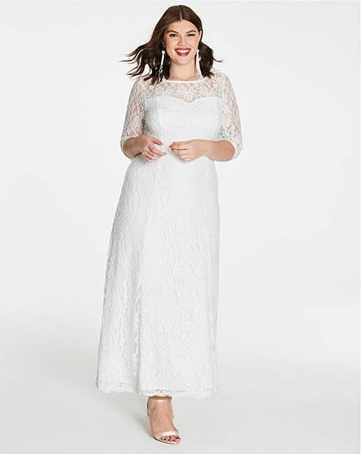 93b346060072 Joanna Hope Lace Maxi Dress