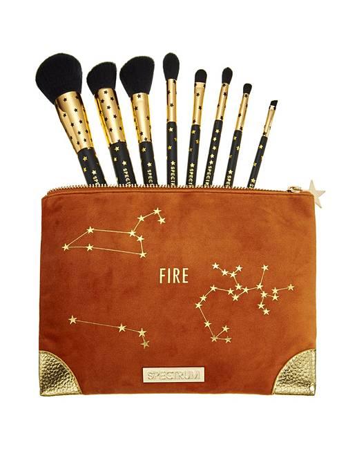 Spectrum Zodiac Fire Brush & Bag Set