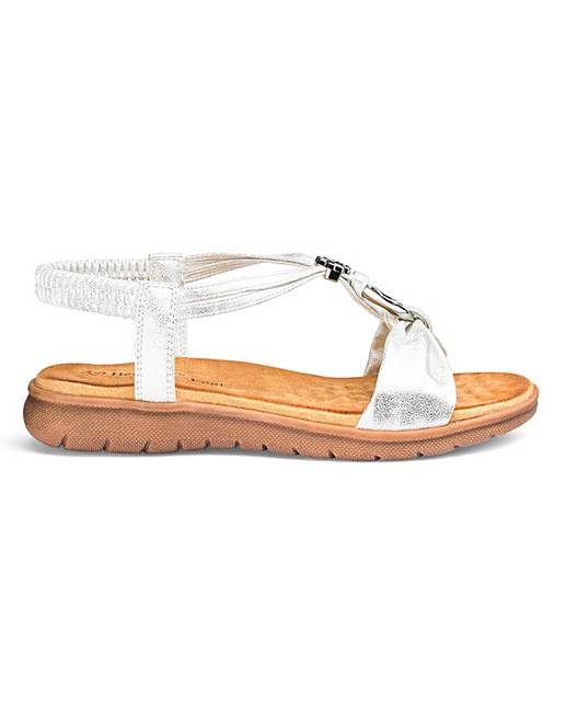 a96a42afaf51 Heavenly Feet Strappy Sandals EEE Fit