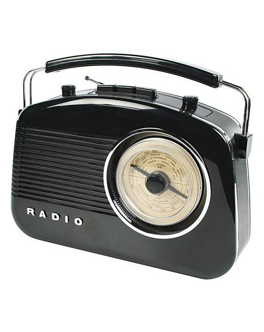 Konig Retro Design Radio HAV-TR710 | J D Williams