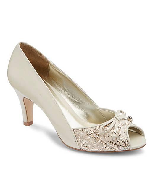 53da8f52446 Lotus Peep Toe Shoes E Fit