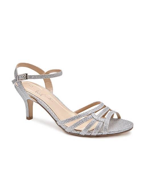294eacf6d61 Paradox London Laurie Wide E Fit Sandals