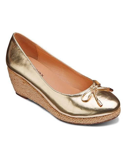 09d0c69225 Footflex by Lotus Wedge Shoes EEE Fit   Simply Be