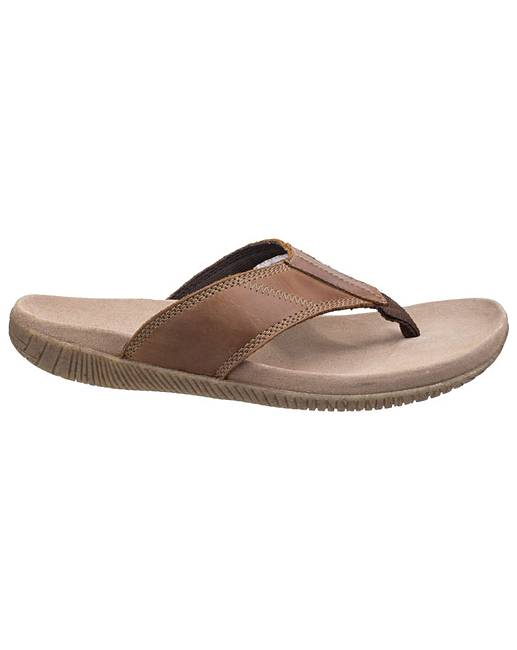 47d5cbd5621915 Hush Puppies Mutt Toe Post Sandal