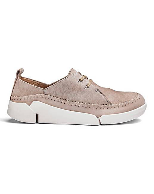 0dadc7a8119 Clarks Tri Angel Lace Up Shoes D Fit