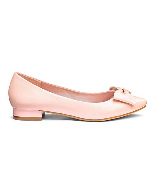 b85606ff3102 Comfort Flat Pointed Shoes E Fit | J D Williams
