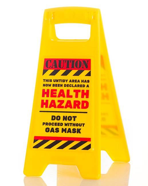 Health Hazard Warning Sign