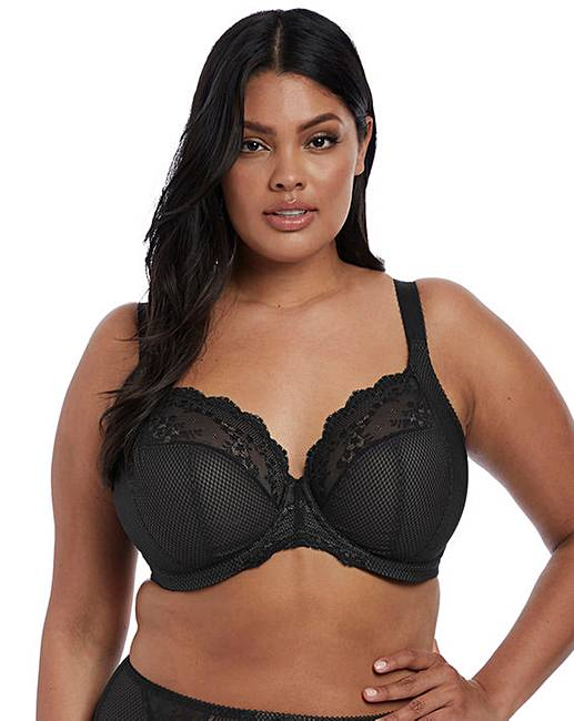 73727d60c80 Elomi Charley Plunge Wired Black Bra