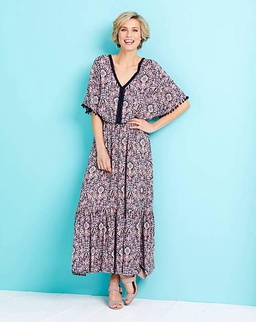 Crinkle Maxi Dresses