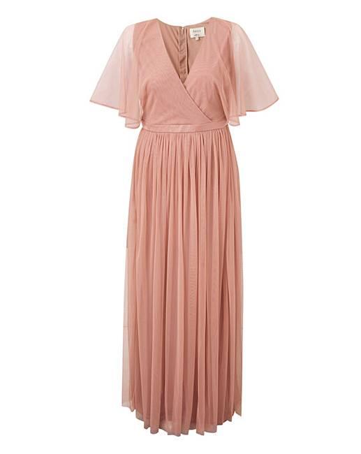 a10a2e09f878f Anaya Kimono sleeve wrap maxi dress | J D Williams
