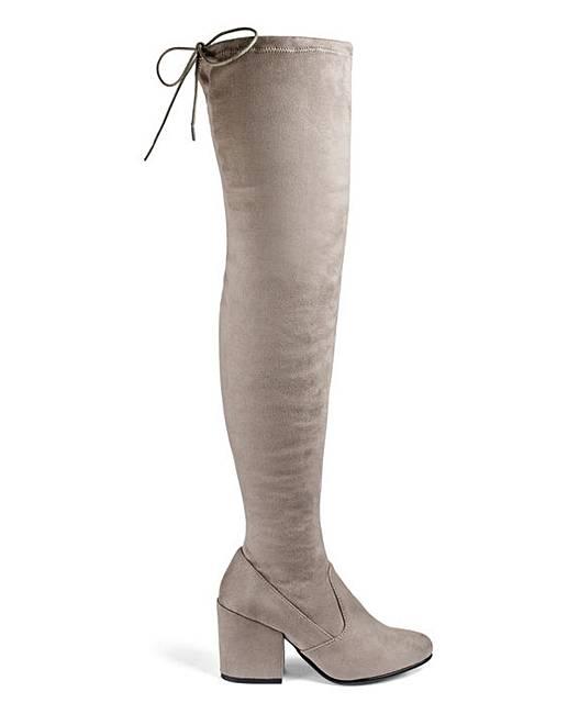dca6a9a0ea06 Irina Boots Wide Fit Super Curvy Calf