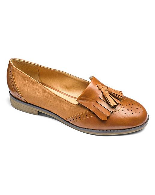f105963ede1 Sole Diva Tassel Loafers EEE Fit