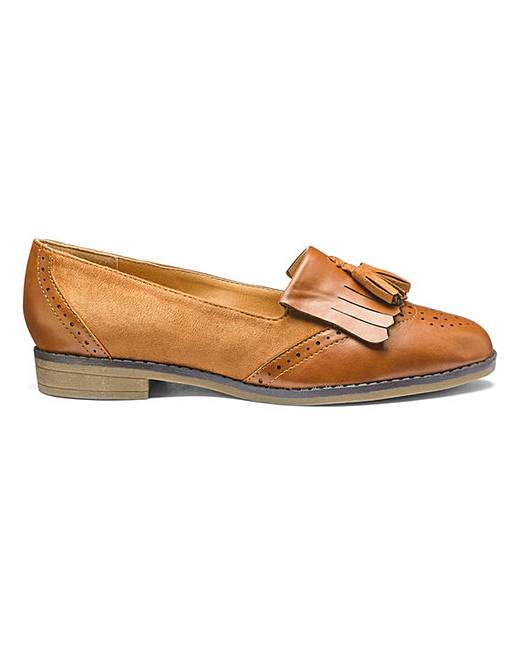 a06660a6138 Sole Diva Tassel Loafers E Fit