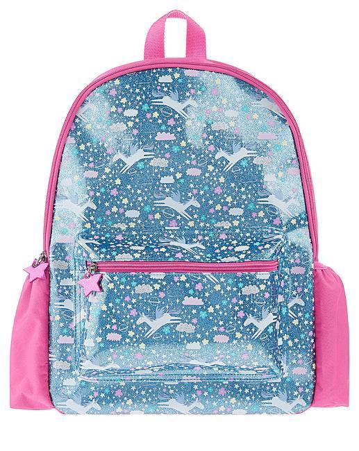 035f4726b Accessorize Glitter Unicorn Backpack