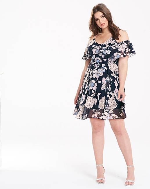 32a79590086f8 AX Paris Printed Summer Dress | Fashion World