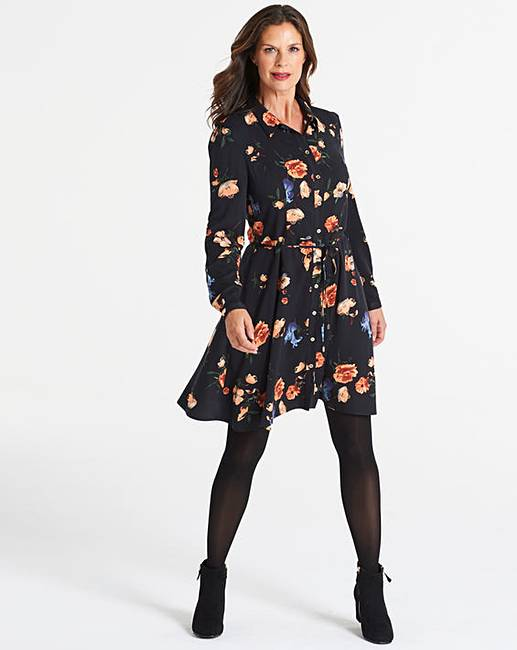 810a258f6b03 Oasis Floral Print Shirt Dress
