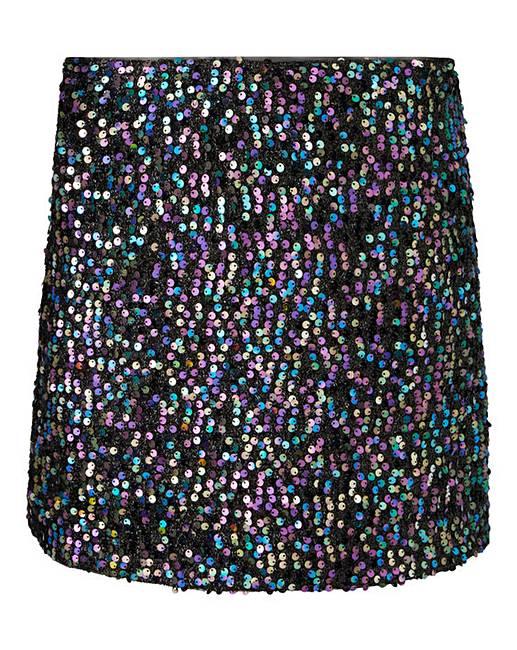 464dbc2e Oasis Sequin Tinsel Mini Skirt | Ambrose Wilson