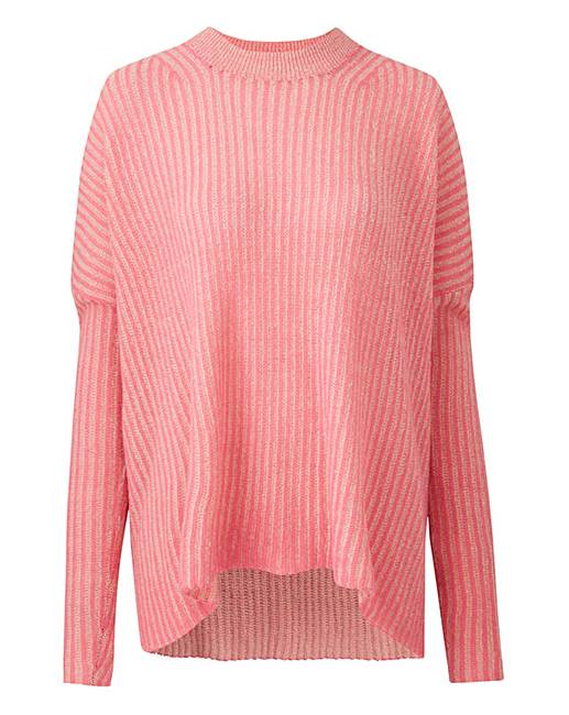 5877698dcd Junarose Wide Rib Pullover | J D Williams