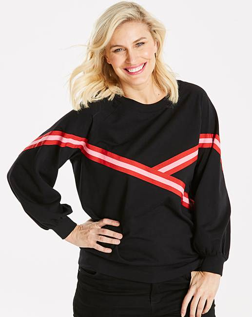 b9d9baa7a3 Junarose Stripe Sweatshirt | Oxendales