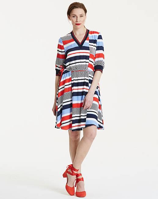 e21cb404fa099 Tommy Hilfiger Kaylee Stripe Dress