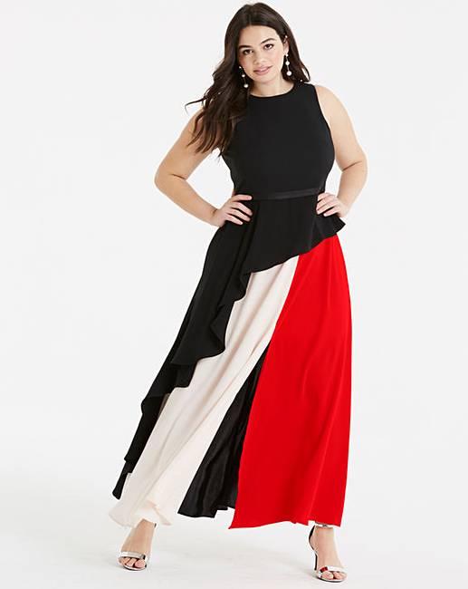 17c46e00a67c Coast Piper Colourblock Maxi Dress