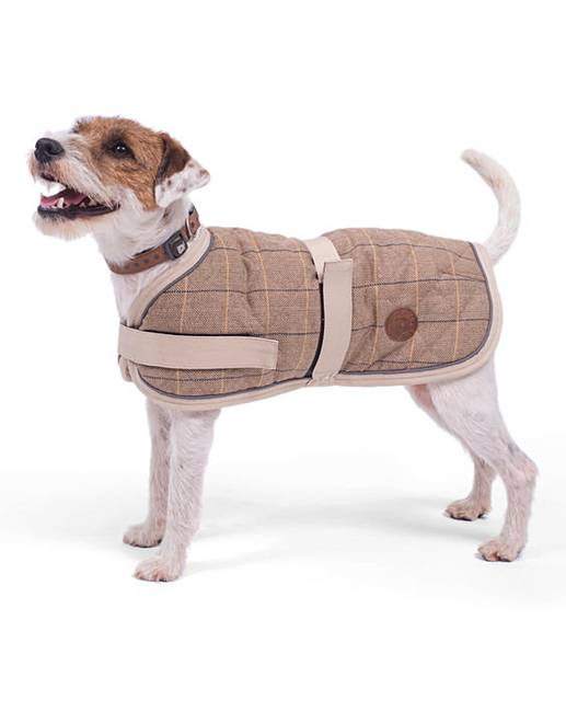 Petface Tweed Dog Coat Home Beauty Gift Shop