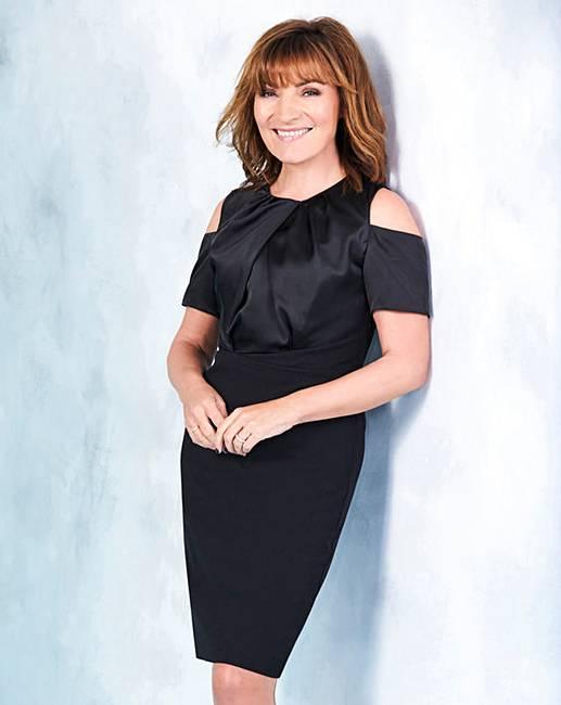 a1bbccaa720b Lorraine Kelly Cold Shoulder Dress