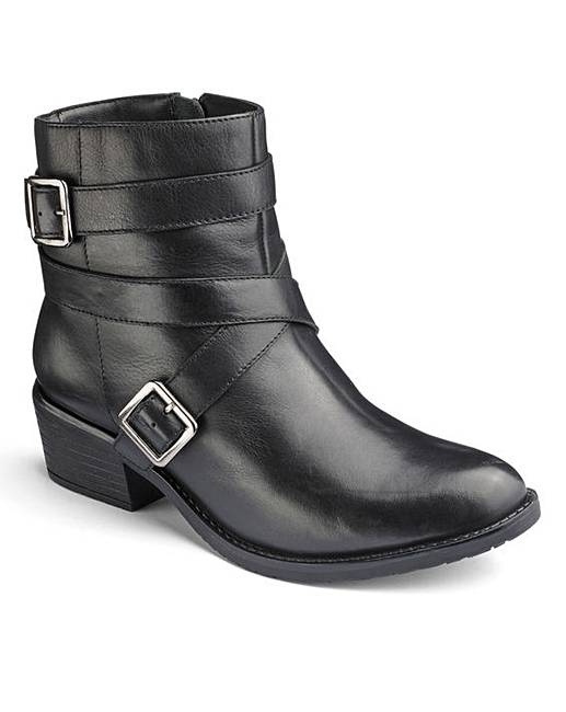 462a0cbfe0a Sole Diva Casual Ankle Boots E Fit
