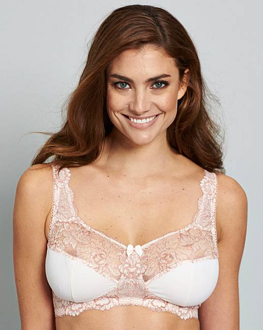 f886e77b055 Blush White Two Pack Ella Non Wired Bras