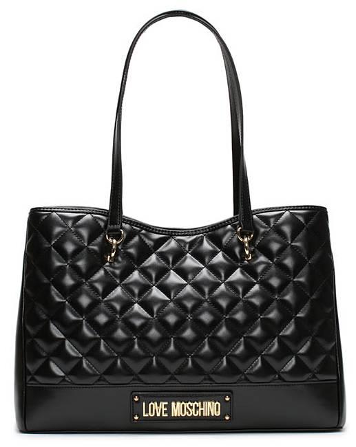 7e2e54fb3 Love Moschino Quilted Shopper Bag
