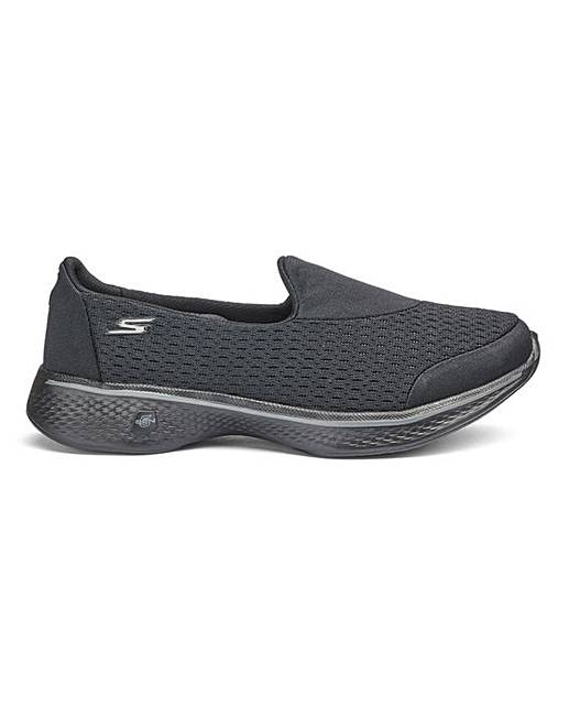 76ef0bbd9e0 Skechers Go Walk 4 Trainers Wide Fit