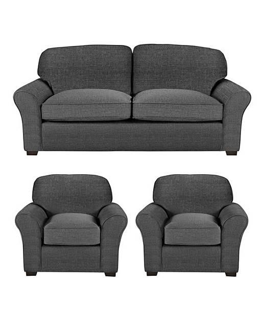 3d3db5c30713 Newbury 3 Sofa plus 2 Chairs | Oxendales