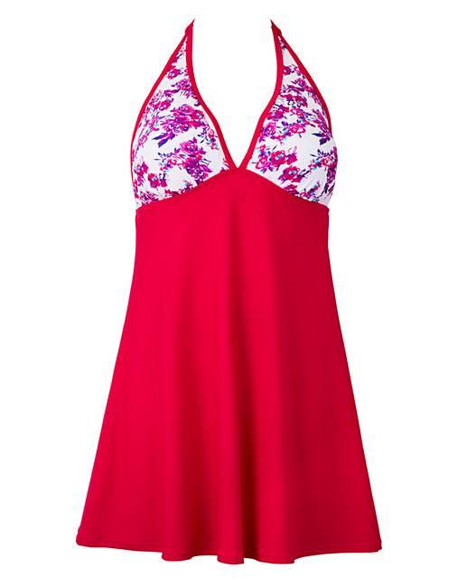 3c9628bfe5 Simply Yours Halter Neck Swimdress | Fashion World