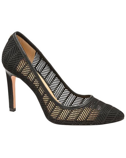 f96f6e14cbbd Ravel Edson Mesh Stiletto Court Shoes