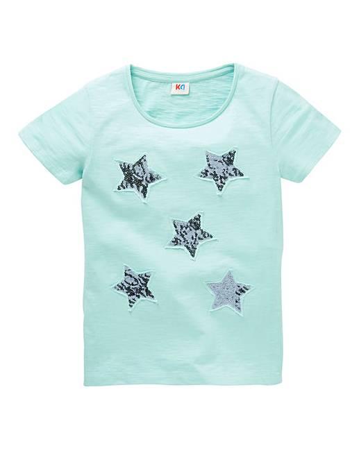 729741ad5d2da KD Girls Sequin Star T-Shirt