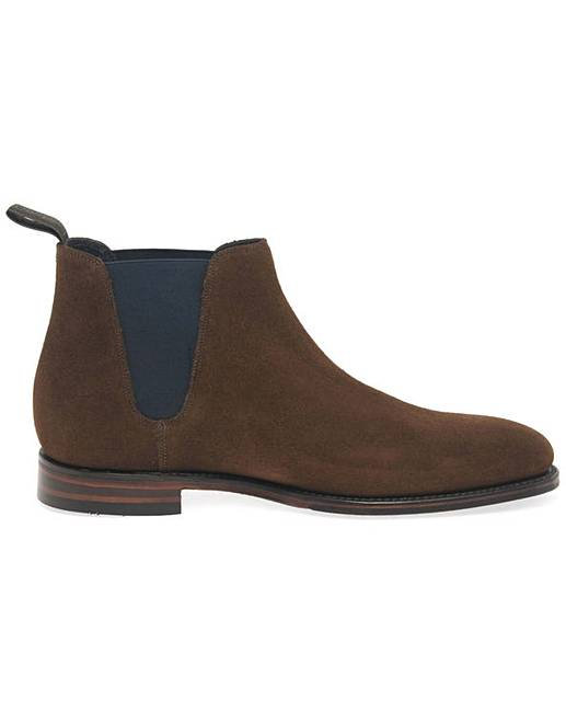 37602169638 Loake Caine Mens Suede Chelsea Boots