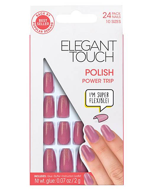 Elegant Touch Polished Nail Power Trip | Simply Be
