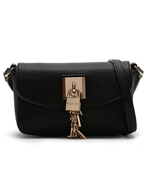 6fba0f8a38 Mario Valentino Lilo Padlock Cross-Body | Simply Be
