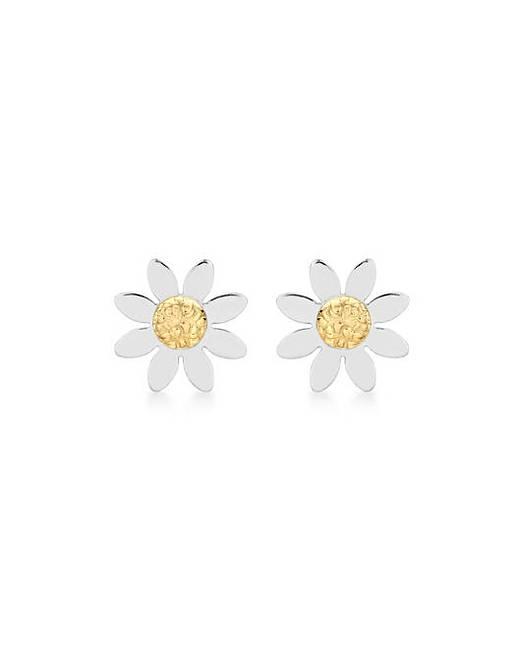 9ct Gold Daisy Earrings