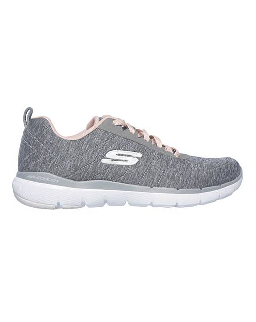 c5a6875d7fd9 Skechers Flex Appeal 3.0 Trainers