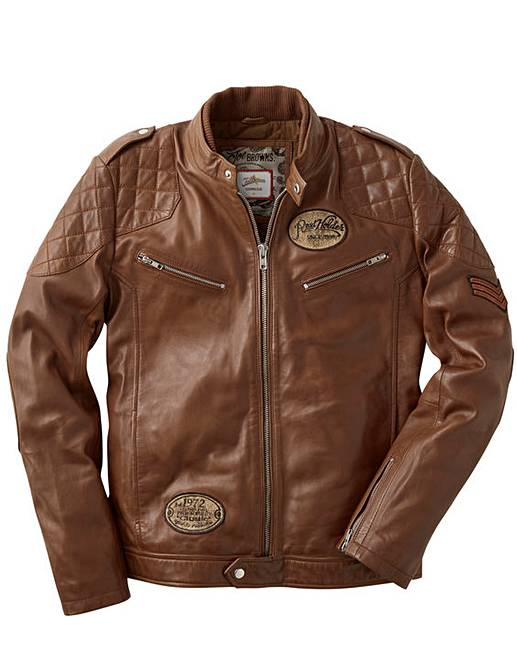 fd63550c9 Joe Browns Leather Jacket Regular