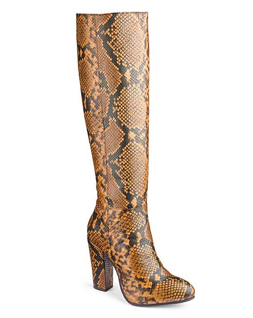 e5b3ee0edc0 Heavenly Soles Knee High Boots EEE Fit