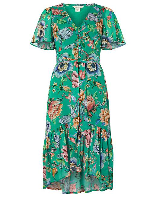 6dfacf938402 Monsoon Alba Print Tea Dress