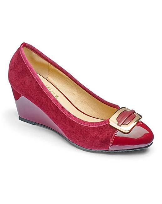 529fdd540062 Footflex by Lotus Wedge Shoes EEE Fit