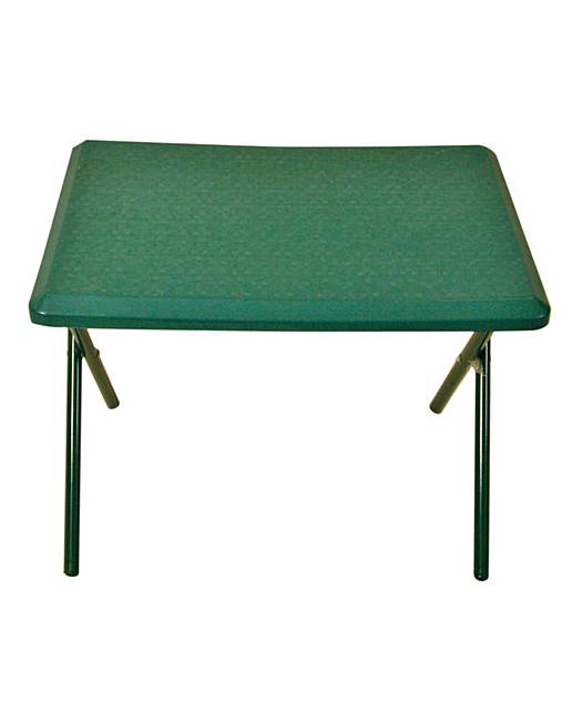 Quest Fleetwood Low Plastic Table In Green