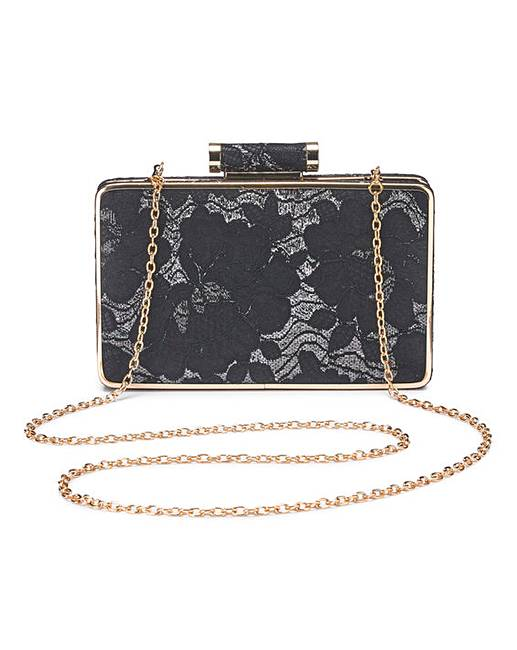 40f2a5d24b5f Oasis Lace Clutch Bag   Simply Be