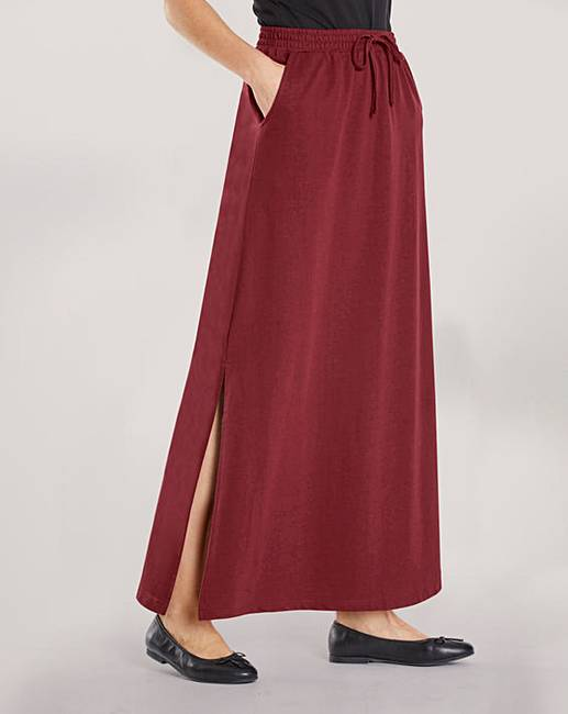 984fa9a818 PK OF 2 SIDE SPLIT FRONT MAXI SKIRT | Oxendales
